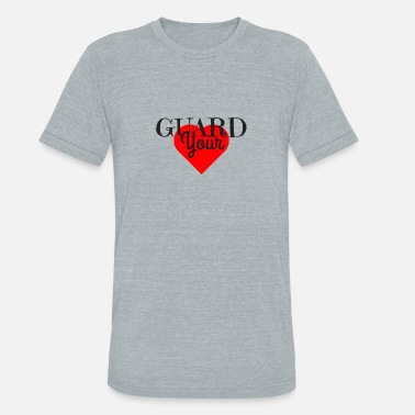 Guard Your Heart GUARD YOUR HEART - Unisex Tri-Blend T-Shirt