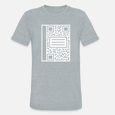 Composition QR Composition - Unisex Tri-Blend T-Shirt