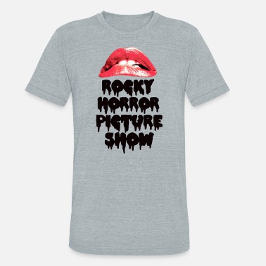 The Rocky Horror Picture Show Rocky Horror Picture Show Lips - Unisex Tri-Blend T-Shirt
