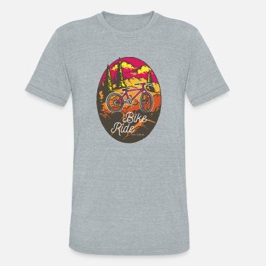 Old Man Bikers Ride Bicycle Adventure Sport Giftidea - Unisex Tri-Blend T-Shirt