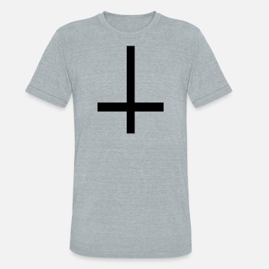 St Peters Cross St. Peter's cross - Unisex Tri-Blend T-Shirt