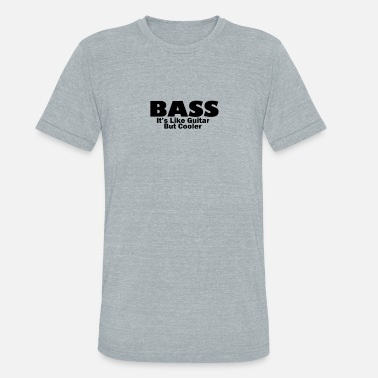 Leevi Bass for ever - Unisex Tri-Blend T-Shirt