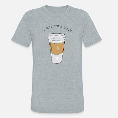 Latte Macchiato latte Macchiato Coffee Lover Design - Unisex Tri-Blend T-Shirt