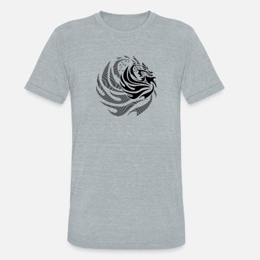 Fire Dragon Fire Dragon - Unisex Tri-Blend T-Shirt
