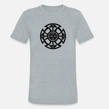 Celtic Art Celtic Symbol - Unisex Tri-Blend T-Shirt