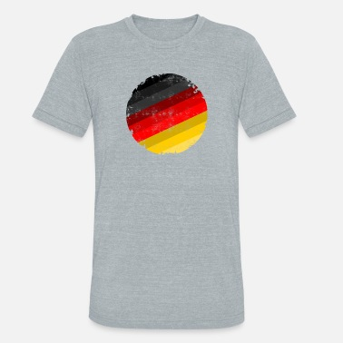 Flag Of Germany germany flag - Unisex Tri-Blend T-Shirt