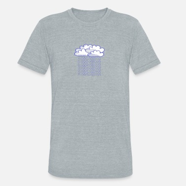 Rain Cloud The Cloud - Unisex Tri-Blend T-Shirt