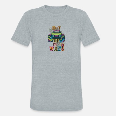 Fun Car Fun and beautiful car design - Unisex Tri-Blend T-Shirt