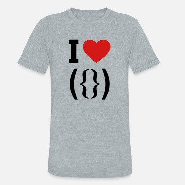 Vagina Bachelor Party I love vagina - Unisex Tri-Blend T-Shirt