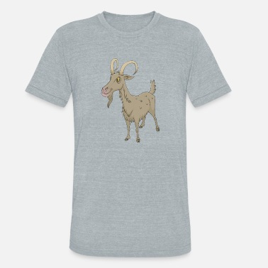 69b4a06185c Goat - Unisex Tri-Blend T-Shirt