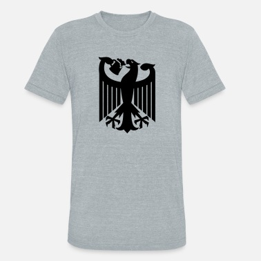 German Eagle Coat of arms of Germany (drinking beer) - Unisex Tri-Blend T-Shirt