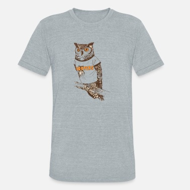 Hooters Original Hooter - Unisex Tri-Blend T-Shirt