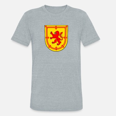 Scot Scotland Coat of Arms King of Scots - Unisex Tri-Blend T-Shirt