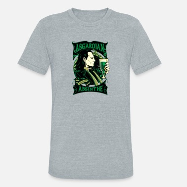 b69498aa Loki Loki Tom Hiddleston Asgardian Absinthe - Unisex Tri-Blend T-Shirt