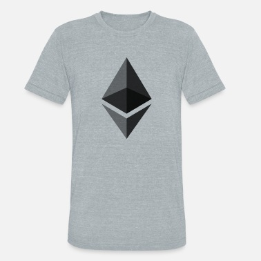 Cryptocurrency Ethereum ETH cryptocurrency - Unisex Tri-Blend T-Shirt