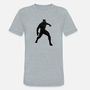 Marvel Black Panther BLACK PANTHER - Unisex Tri-Blend T-Shirt