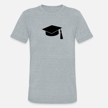 Diploma graduation hat - Unisex Tri-Blend T-Shirt