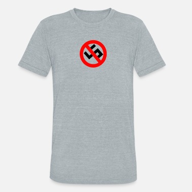 Trump 45 Anti 45 - Unisex Tri-Blend T-Shirt