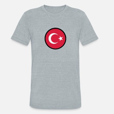 Anatolia In A Sign Of Turkey - Unisex Tri-Blend T-Shirt