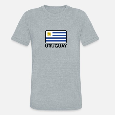 Rio De La Plata National Flag Of Uruguay - Unisex Tri-Blend T-Shirt