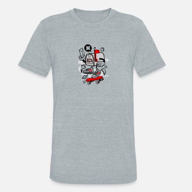 Doping Box Mail Box - Unisex Tri-Blend T-Shirt