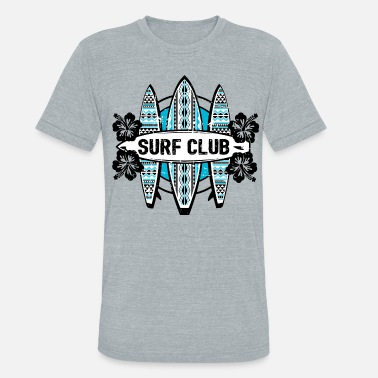 Summer AD Surf Club - Unisex Tri-Blend T-Shirt