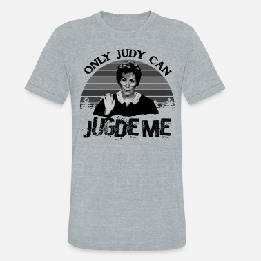 Judy Sheindlin Only Judy Can Judge Me Vintage Unisex T Shirt Cotton