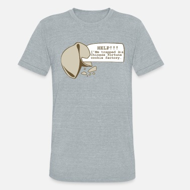 Fortune Cookie Fortune Cookie - Unisex Tri-Blend T-Shirt