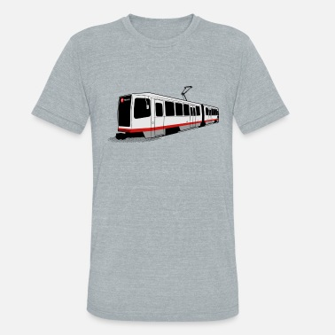 Francisco T Third St - San Francisco Muni Train - Unisex Tri-Blend T-Shirt