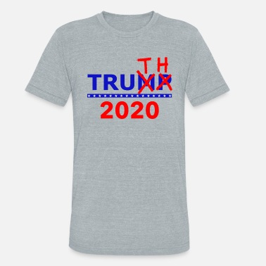 Democratic Party Truth Not Trump 2020 - Unisex Tri-Blend T-Shirt