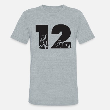 Twelve twelve cracks - Unisex Tri-Blend T-Shirt