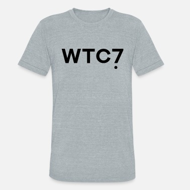 World Trade Centre World Trade Center WTC 7 - Unisex Tri-Blend T-Shirt