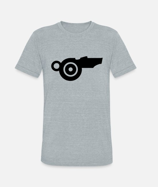 Whistle T-Shirts - Triller Whistle (B 1c) - Unisex Tri-Blend T-Shirt heather gray