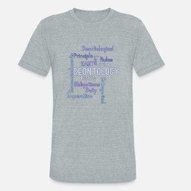 Ethics ethics quotes - Unisex Tri-Blend T-Shirt