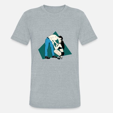 Jeans King of Jeans - Unisex Tri-Blend T-Shirt