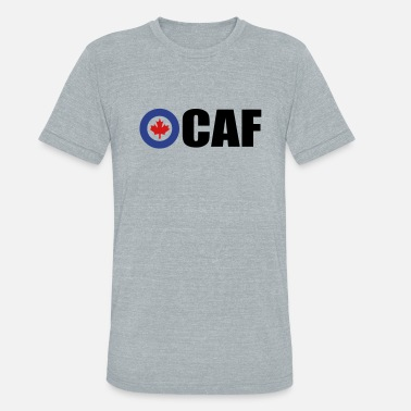 Royal Canadian Air Force - Unisex Tri-Blend T-Shirt