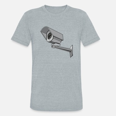 Surveillance State surveillance camera - Unisex Tri-Blend T-Shirt
