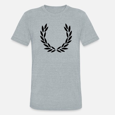 Wimbeldon Laurel Wreath - Unisex Tri-Blend T-Shirt