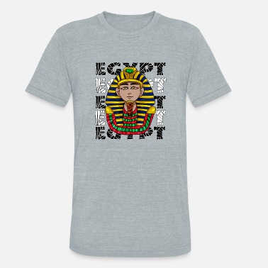 Pharaoh egypt pharaoh - Unisex Tri-Blend T-Shirt
