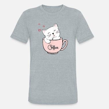 PERFURM Womens Cute Cat Printing Sweatshirt Shirt Tops Girls Cute Cat T-Shirt