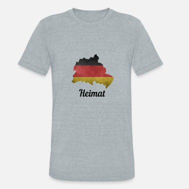 Schöneberg Germany, Hometown, Germany Flag, Berlin, Spandau - Unisex Tri-Blend T-Shirt