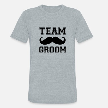 Groomsmen Team Groom Groomsmen funny men's shirt - Unisex Tri-Blend T-Shirt