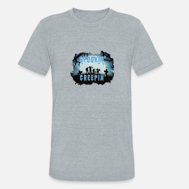 Spooky Nights - Unisex Tri-Blend T-Shirt