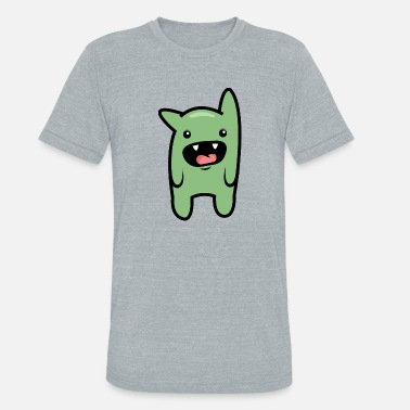 Cute monster - Unisex Tri-Blend T-Shirt