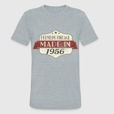 Vintage 1956 60 Birthday - Unisex Tri-Blend T-Shirt