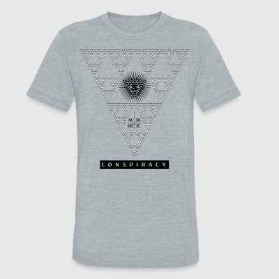 Conspiracy, who's watching? - Unisex Tri-Blend T-Shirt by American Apparel
