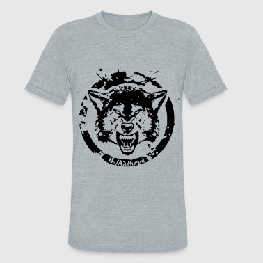 De//Cultured - Wolf - Unisex Tri-Blend T-Shirt