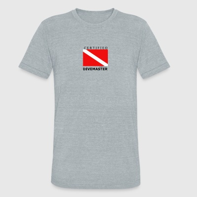 DIVEMASTER - Unisex Tri-Blend T-Shirt by American Apparel