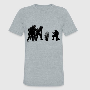 Police brutality coming up - Unisex Tri-Blend T-Shirt
