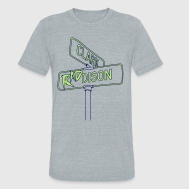 clark and RADdison - Unisex Tri-Blend T-Shirt